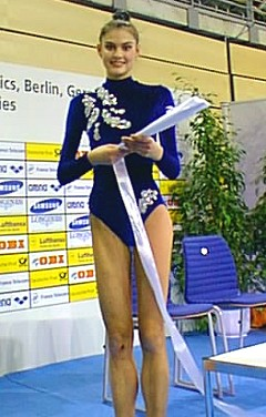 Natalia at the 1997 Worlds in Berlin